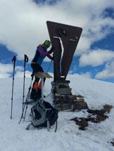 Via Normale Monte Gardena - In cima