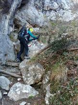 Via Normale Pizzo Corno - Sentiero Attrezzato