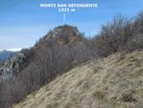 Via Normale Monte San Defendente (o Sasso di S. Defendente) - In salita