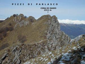 Via Normale Cima di Dasio - Pizzi di Parlasco