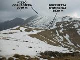 Via Normale Pizzo di Goredo - Panorama di vetta verso NNE