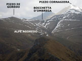 Via Normale Cima d´Agrella - Cresta N - Panorama di vetta, verso NNE