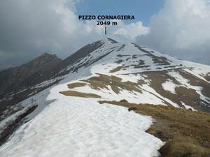 Via Normale Pizzo Cornagiera - Cresta SSW