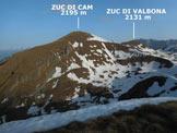 Via Normale Monte Foppabona - Panorama di vetta, verso NW