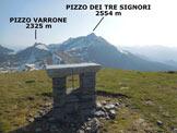 Via Normale Zuc di Cam (o Zucco di Cam) - Panorama di vetta, verso NE