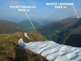 Via Normale Pizzo Larec (o Pizzo Lareggio) - Panorama di vetta, verso NW