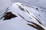 Via Normale Monte Matto - Cima vista dalla sella