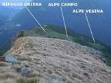 Via Normale Piancone Basso - Panorama di vetta, verso SW