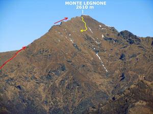 Via Normale Monte Legnone - Cresta Sud