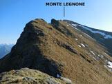 Via Normale Monte Legnone - Cresta Sud - Lungo la cresta S