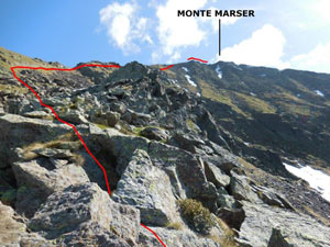 Via Normale Monte Marser