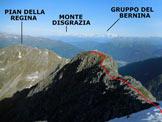 Via Normale Monte Marser - Il tratto finale della cresta W, dalla vetta