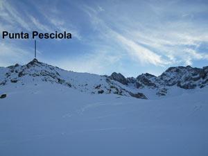Via Normale Punta Pesciola