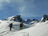 Via Normale Punta Pesciola - La valletta prima della vetta