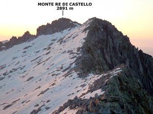 Via Normale Monte Re di Castello - Cresta Ovest