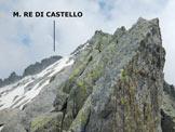 Via Normale Monte Re di Castello - Cresta Ovest - Facili passaggi lungo la cresta W