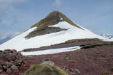 Via Normale Punta dell'Auccia - Tratto finale alla cima