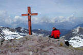 Via Normale Punta dell'Auccia - Croce di vetta