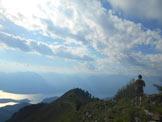 Via Normale Monte Croce - Lungo la facile dorsale erbosa