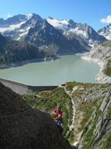Via Normale Pizzo Spazzacaldera (cresta NE) - Sullo spigolo di L2