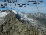Via Normale Cima di Salimmo - Da Malga Caldea - Panorama di vetta, verso SW