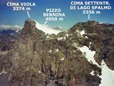 Via Normale Cima Orientale di Lago Spalmo - Cresta SW - Lo stupendo panorama di vetta, verso W
