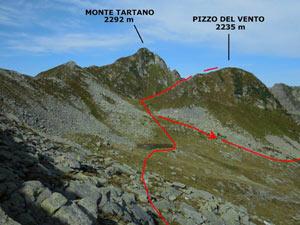 Via Normale Pizzo del Vento - dalla Val Tartano