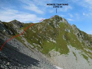 Via Normale Monte Tartano - Cresta SE