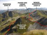 Via Normale Monte Tartano - Cresta SE - Panorama di vetta, verso NE