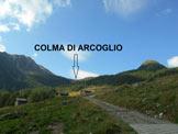 Via Normale Monte Arcoglio - Il vallone che dall´Alpe Arcoglio Inferiore sale alla Colma di Arcoglio