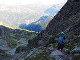 Via Normale Salbitschijen - Cresta S - Discesa lungo il versante nord