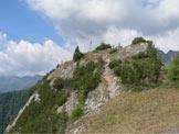 Via Normale Monte Lupo/Wolfskofel - L'ultimo tratto di cresta