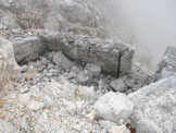 Via Normale Vrh Nad Peski - Vista dalla cima