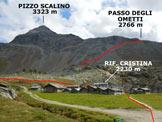 Via Normale Pizzo Scalino - dalla Val Painale - Il Pizzo Scalino, dall'Alpe Prabello