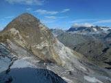Via Normale Cima Val Fontana - Panorama di vetta sul Pizzo Scalino e sul Gruppo del Bernina