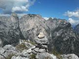 Via Normale Cima Costa dei Làres - Vista dalla cima verso le Pale di San Lucano