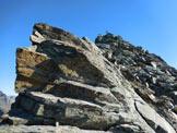 Via Normale Pizzo di Canciano - dal Cornetto - Facili rocce sulla cresta sommitale WSW