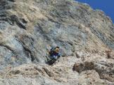 Via Normale Pizzo della Presolana Centrale (Via Bramani Ratti) - La bellissima lama rossa di L5
