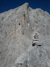 Via Normale Sass dei Lastèi - Foto di vetta verso il monte Agnèr