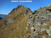 Via Normale Monte Acquanera - Cresta ENE - Sulla cresta ENE