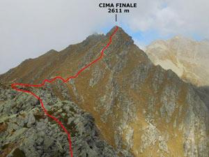 Via Normale Cima Finale - Cresta SSE