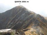 Via Normale Cima Finale - Cresta SSE - Sulla cresta SSE, in prossimità della vetta