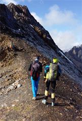 Via Normale Monte Gleno - Vers. Scalvino - Verso la cima