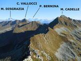 Via Normale Monte Valegino - Panorama di vetta, verso NE
