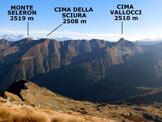 Via Normale Pizzo Scala - Vers. est - Panorama di vetta, verso NE