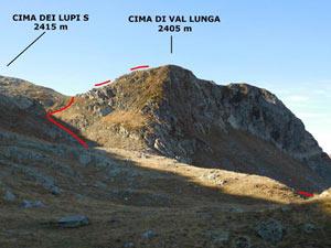 Via Normale Cima di Val Lunga