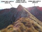 Via Normale Cima di Val Lunga - Cresta SW - Gli ultimi 50 metri della cresta SW, che qui assume orientamento W