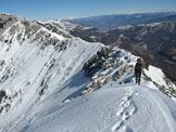 Via Normale Punta Pettorina e Punta Telegrafo - Lungo la cresta dalla Forc. Valdritta