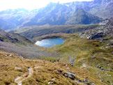 Via Normale Piz dil Crot - Rif. Bertacchi e il lago di Emet