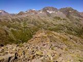 Via Normale Piz dil Crot - Discesa dal Passo del Crotto verso Val Niemet